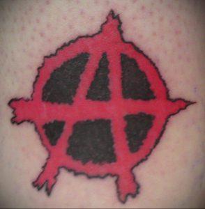 Фоторисунка татуировки анархия 24.03.2020 №009 -tattoo anarchy- tattoo-photo.ru