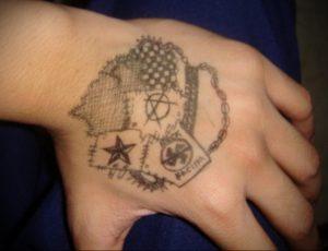 Фоторисунка татуировки анархия 24.03.2020 №012 -tattoo anarchy- tattoo-photo.ru