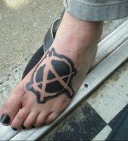 Фоторисунка татуировки анархия 24.03.2020 №021 -tattoo anarchy- tattoo-photo.ru