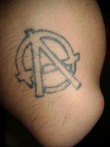 Фоторисунка татуировки анархия 24.03.2020 №022 -tattoo anarchy- tattoo-photo.ru