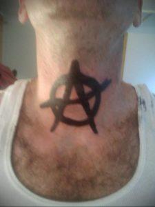 Фоторисунка татуировки анархия 24.03.2020 №026 -tattoo anarchy- tattoo-photo.ru