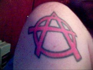Фоторисунка татуировки анархия 24.03.2020 №034 -tattoo anarchy- tattoo-photo.ru