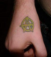 Фоторисунка татуировки анархия 24.03.2020 №048 -tattoo anarchy- tattoo-photo.ru
