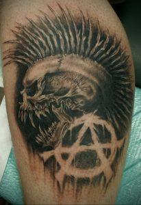 Фоторисунка татуировки анархия 24.03.2020 №050 -tattoo anarchy- tattoo-photo.ru