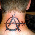 Фоторисунка татуировки анархия 24.03.2020 №052 -tattoo anarchy- tattoo-photo.ru