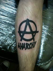 Фоторисунка татуировки анархия 24.03.2020 №054 -tattoo anarchy- tattoo-photo.ru