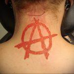 Фоторисунка татуировки анархия 24.03.2020 №058 -tattoo anarchy- tattoo-photo.ru