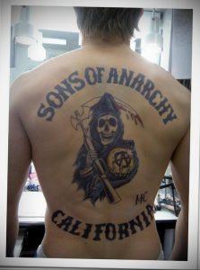 Фото сыны анархии тату 24.03.2020 №001 -tattoo anarchy- tatufoto.com