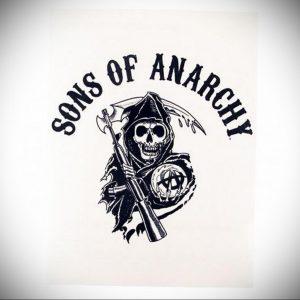 Фото сыны анархии тату 24.03.2020 №002 -tattoo anarchy- tatufoto.com