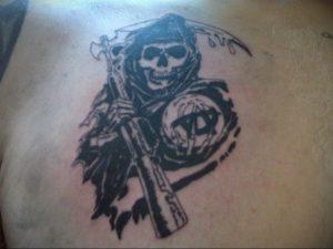 Фото сыны анархии тату 24.03.2020 №017 -tattoo anarchy- tatufoto.com