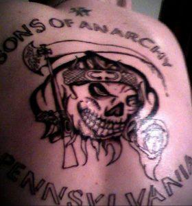 Фото сыны анархии тату 24.03.2020 №020 -tattoo anarchy- tatufoto.com