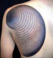 Фото татуировки на лопатке 09.03.2020 №003 -tattoo on the shoulder- tattoo-photo.ru