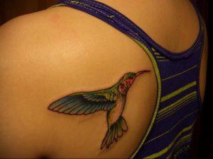 Фото татуировки на лопатке 09.03.2020 №037 -tattoo on the shoulder- tattoo-photo.ru