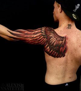 Фото татуировки на лопатке 09.03.2020 №067 -tattoo on the shoulder- tattoo-photo.ru