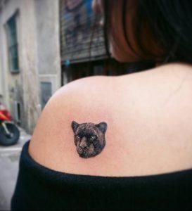 Фото тату на левой лопатке 09.03.2020 №027 -tattoo on the shoulder- tattoo-photo.ru