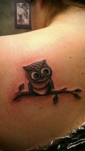 Фото тату на левой лопатке 09.03.2020 №034 -tattoo on the shoulder- tattoo-photo.ru