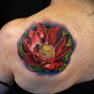 Фото тату на левой лопатке 09.03.2020 №052 -tattoo on the shoulder- tattoo-photo.ru