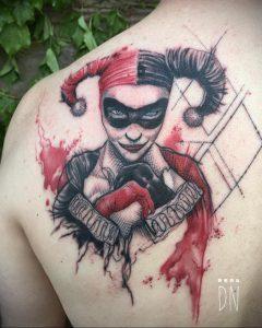 Фото тату на левой лопатке 09.03.2020 №058 -tattoo on the shoulder- tattoo-photo.ru