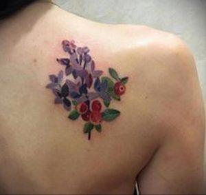 Фото тату на правой лопатке 09.03.2020 №010 -tattoo on the shoulder- tattoo-photo.ru