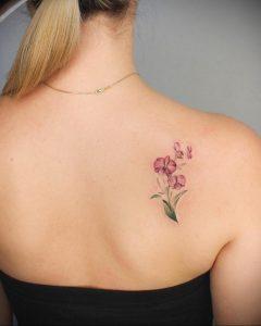 Фото тату на правой лопатке 09.03.2020 №011 -tattoo on the shoulder- tattoo-photo.ru
