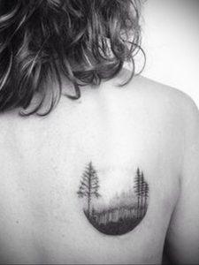 Фото тату на правой лопатке 09.03.2020 №027 -tattoo on the shoulder- tattoo-photo.ru