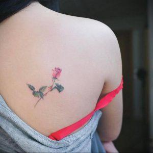 Фото тату на правой лопатке 09.03.2020 №031 -tattoo on the shoulder- tattoo-photo.ru