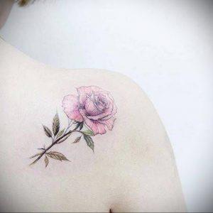 Фото тату на правой лопатке 09.03.2020 №036 -tattoo on the shoulder- tattoo-photo.ru