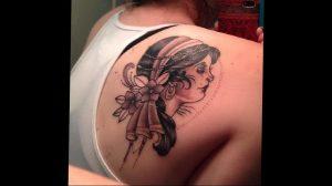 Фото тату на правой лопатке 09.03.2020 №062 -tattoo on the shoulder- tattoo-photo.ru