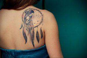 Фото тату на правой лопатке 09.03.2020 №075 -tattoo on the shoulder- tattoo-photo.ru