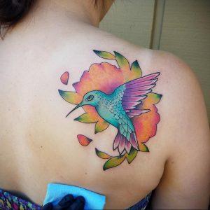 Фото тату на правой лопатке 09.03.2020 №081 -tattoo on the shoulder- tattoo-photo.ru