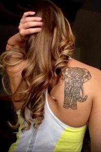 Фото тату на правой лопатке 09.03.2020 №087 -tattoo on the shoulder- tattoo-photo.ru