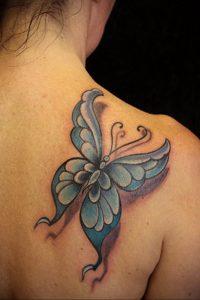 Фото тату на правой лопатке 09.03.2020 №094 -tattoo on the shoulder- tattoo-photo.ru