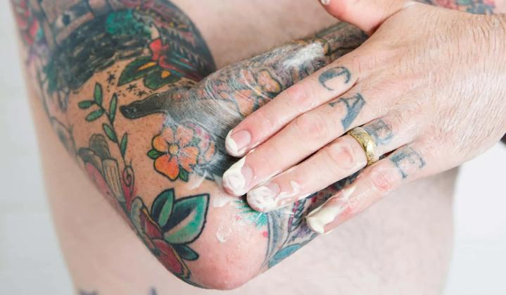 Уход за татуировкой - фото пример 17062020 - фото 1