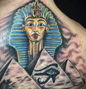 Пример рисунка татуировки Сфинкс 14.12.2020 №014 -sphinx tattoo-tattoo-photo.ru