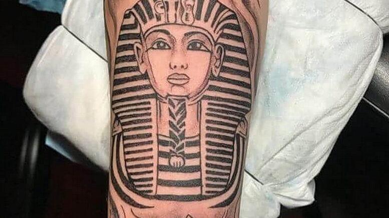 Пример рисунка татуировки Сфинкс 14.12.2020 №017 -sphinx tattoo-tattoo-photo.ru