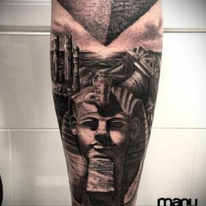 Пример рисунка татуировки Сфинкс 14.12.2020 №021 -sphinx tattoo-tattoo-photo.ru