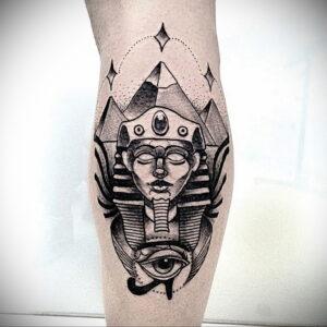 Пример рисунка татуировки Сфинкс 14.12.2020 №028 -sphinx tattoo-tattoo-photo.ru