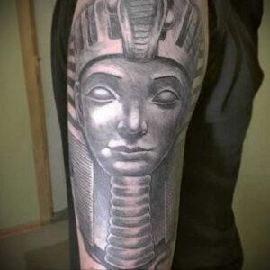Пример рисунка татуировки Сфинкс 14.12.2020 №031 -sphinx tattoo-tattoo-photo.ru