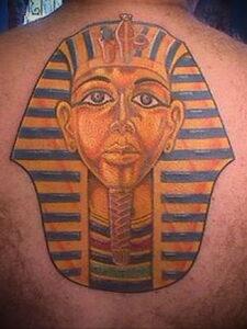 Пример рисунка татуировки Сфинкс 14.12.2020 №040 -sphinx tattoo-tattoo-photo.ru