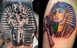 Пример рисунка татуировки Сфинкс 14.12.2020 №041 -sphinx tattoo-tattoo-photo.ru