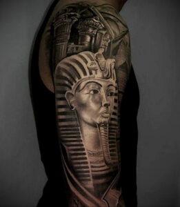 Пример рисунка татуировки Сфинкс 14.12.2020 №044 -sphinx tattoo-tattoo-photo.ru