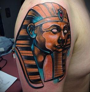 Пример рисунка татуировки Сфинкс 14.12.2020 №047 -sphinx tattoo-tattoo-photo.ru