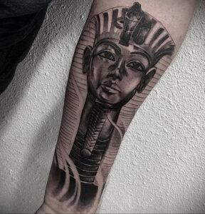 Пример рисунка татуировки Сфинкс 14.12.2020 №056 -sphinx tattoo-tattoo-photo.ru