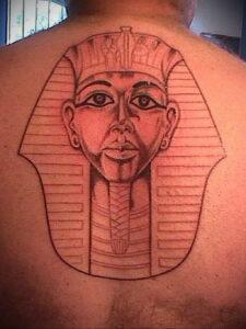 Пример рисунка татуировки Сфинкс 14.12.2020 №058 -sphinx tattoo-tattoo-photo.ru