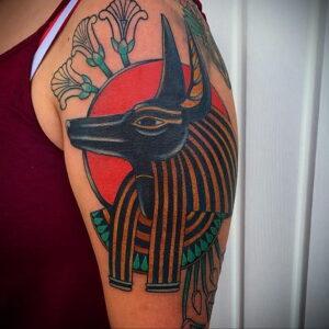 Пример рисунка татуировки Сфинкс 14.12.2020 №060 -sphinx tattoo-tattoo-photo.ru