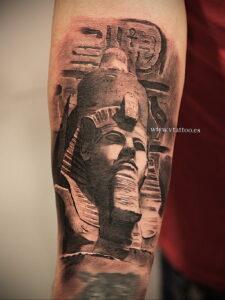 Пример рисунка татуировки Сфинкс 14.12.2020 №062 -sphinx tattoo-tattoo-photo.ru