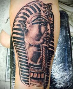 Пример рисунка татуировки Сфинкс 14.12.2020 №063 -sphinx tattoo-tattoo-photo.ru