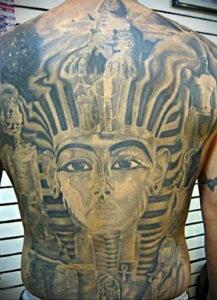 Пример рисунка татуировки Сфинкс 14.12.2020 №064 -sphinx tattoo-tattoo-photo.ru