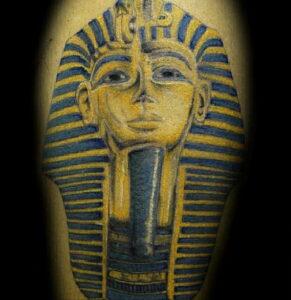 Пример рисунка татуировки Сфинкс 14.12.2020 №069 -sphinx tattoo-tattoo-photo.ru