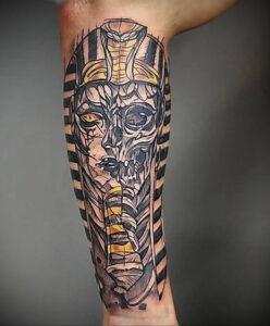 Пример рисунка татуировки Сфинкс 14.12.2020 №093 -sphinx tattoo-tattoo-photo.ru